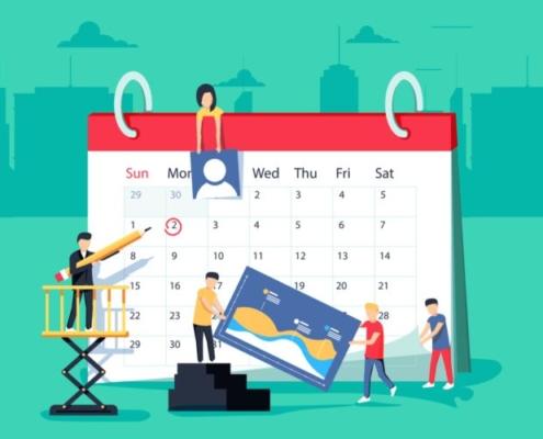calendario redes sociales semrush