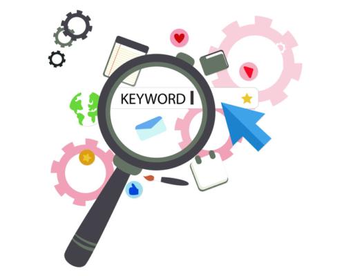 búsqueda de palabras claves